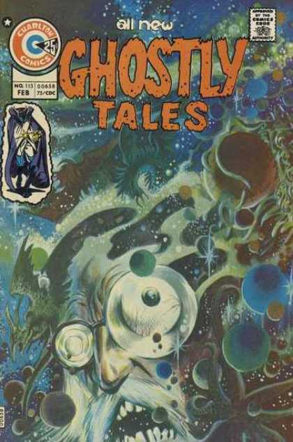 Ghostly Tales 113 - Charlton - Galaxies - Stars - Ghost - One Star