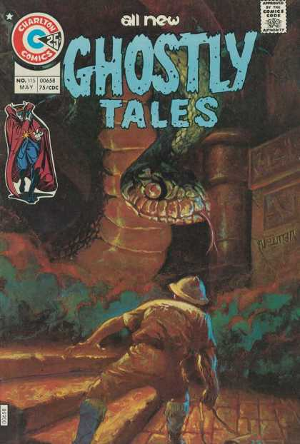 Ghostly Tales 115 - All New - Charlton Comics - Comics Code - No 115 - May