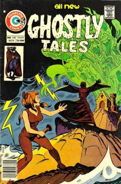 Ghostly Tales 118 - Charlton Comics - Silver Age - Supernatural - Ghosts - Storm