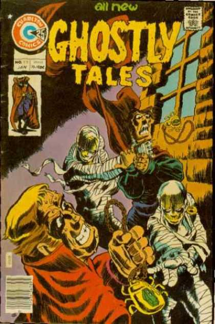 Ghostly Tales 119 - Mummies - Window - Chains - Scareb - Necklace