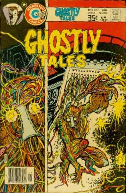 Ghostly Tales 127 - Monster - Electric Creature - Electric Monster - Man Eater - Weird