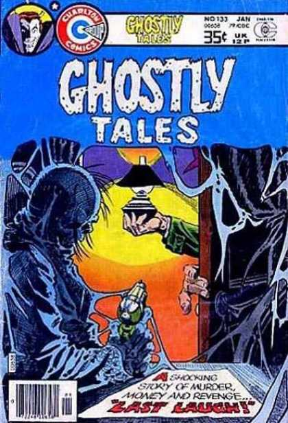 Ghostly Tales 133 - Door - Cobwebs - Arm - Hands - Lantern