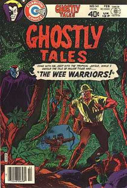 Ghostly Tales 141 - Vampire - Jungle - Piith Helmet - Trees - Men