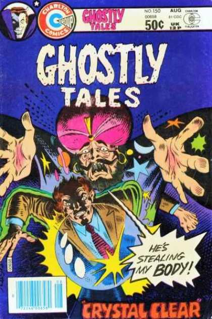 Ghostly Tales 150 - Crystal Clear - Stealing My Body - No 150 - Genie - Crystal Ball