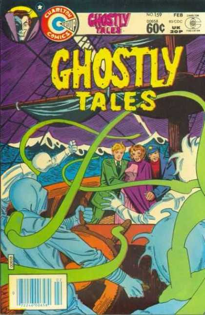 Ghostly Tales 159 - Charlton Comics - Ghosts - Supernatural - Horror - Sea Monster