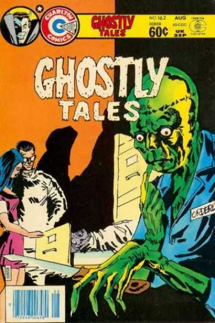 Ghostly Tales 162 - Creature - File Cabinet - Knife - White Coat - Morgue