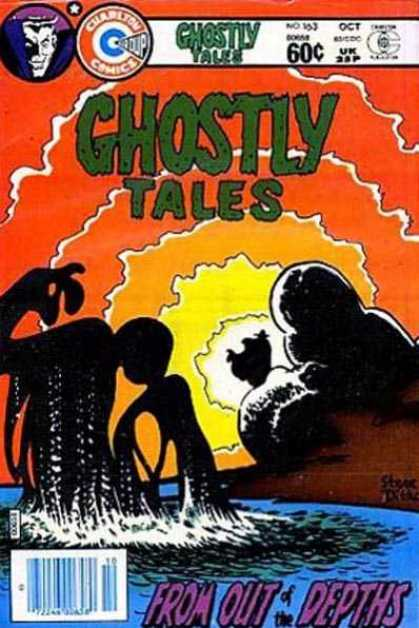 Ghostly Tales 163 - Shadow - Logo - Price - Water - Serial Number