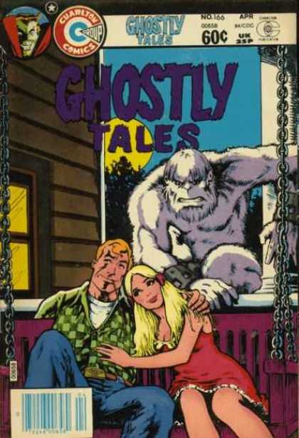 Ghostly Tales 166 - Date - Couple - Monster - Lovers - Fear