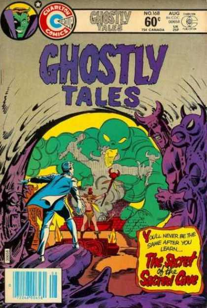 Ghostly Tales 168 - No 168 - 168 - Aug - August - Charlton Comics Group