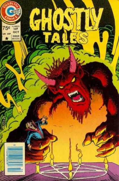 Ghostly Tales 169 - Ghostly Tales - Demon - Monster - Smoke - Pentagram