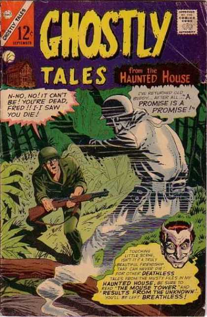 Ghostly Tales 57 - Ghost - Soldier - Deathless - Death - War