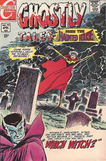 Ghostly Tales 79 - Which Witch - Thunderstorm - Graveyard - Revenge - Spirits