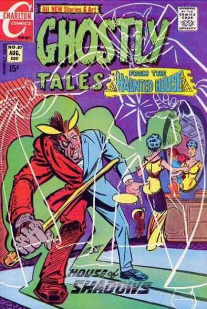 Ghostly Tales 87 - Charlton - Charlton Comics - No 87 - Aug - Haunted House