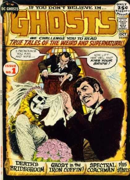 Ghosts 1 - Bride - Ghosts - Dc - Kiss Your Bride - Issue No 1 - Nick Cardy