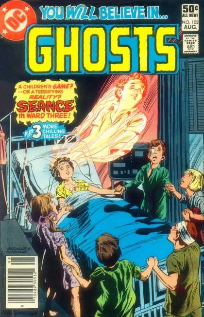 Ghosts 103 - Dc - You Will Believe In - Seance - 50c All New - 3 More Chilling Tales - Richard Buckler