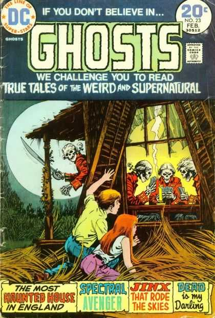 Ghosts 23 - Nick Cardy