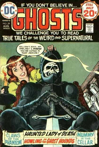Ghosts 29 - Supernatural Tales - Ghosts Tales - Spooky True Tales - The Weird And Supernatural - True Supernatural Tales - Nick Cardy