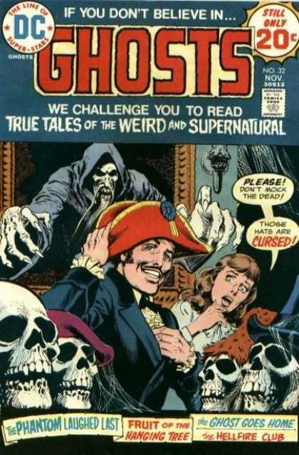 Ghosts 32 - Dont Mock The Dead - Pirate Hat - Cursed - Fruit Of The Hanging Tree - The Hellfire Club