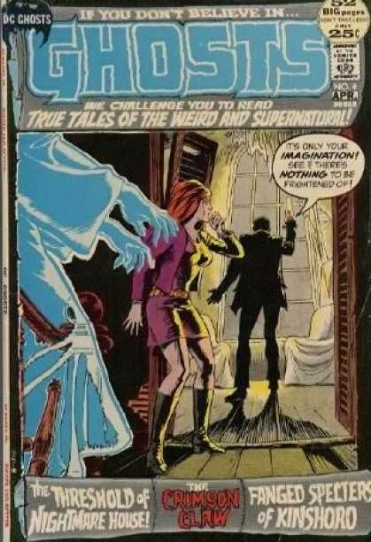 Ghosts 4 - Ghosts - True Tales Of The Weird And Supernatural - Dc Chosts - Night Mare - Fanged Specters Of Kinshord - Nick Cardy