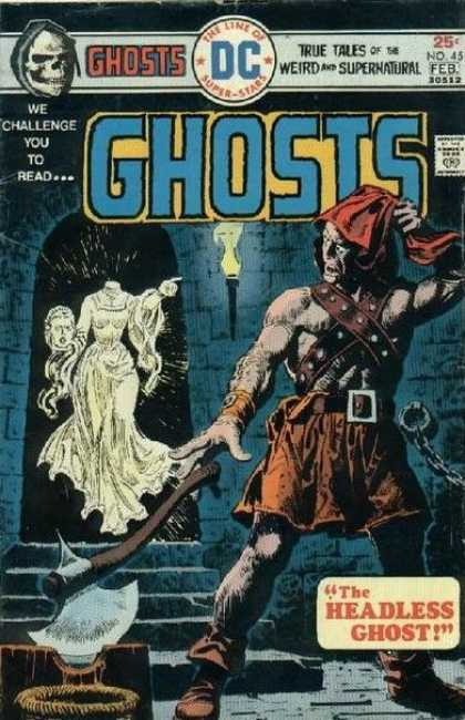 Ghosts 45 - Headless Spirit - Burning Torch - Battle Axe - Dungoen - Fear