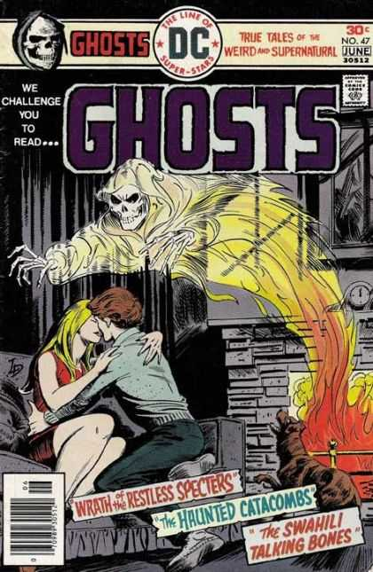 Ghosts 47 - True Tales Of The Weird And Supernatural - Wrath Of The Restless Specters - The Haunted Catacombs - The Swahili Talking Bones - Fireplace