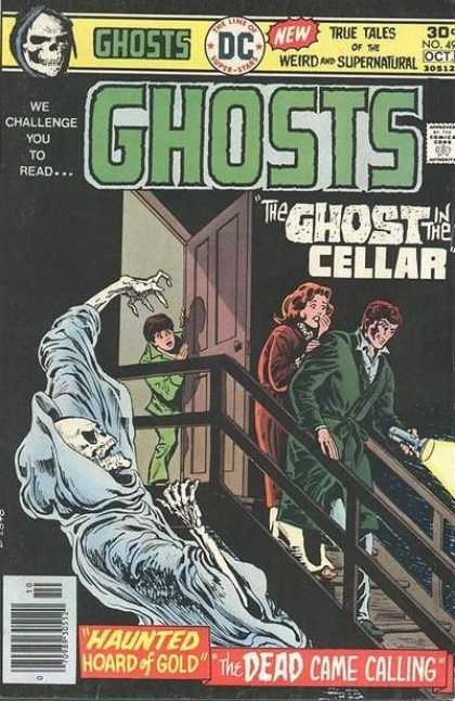 Ghosts 49 - Ghosts - Dc - We Challenge You To Read - The Ghost In The Cellar - True Tales Of The Weird And Supernatural