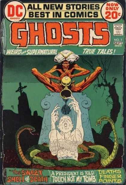 Ghosts 7 - Michael Kaluta