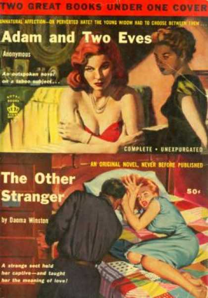 Giant Books - Adam and Two Eves | the Other Stranger - Daoma Anonymous | Winstone
