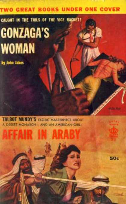 Giant Books - Gonzagas Woman : And - Affair In Araby - John; Mundy, Talbot Jakes