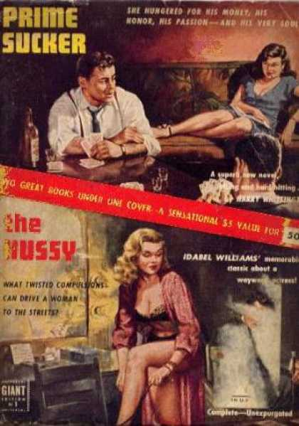 Giant Books - Prime Sucker/the Hussy Two Great Books Under One Cover - Harry/williams, Idabel