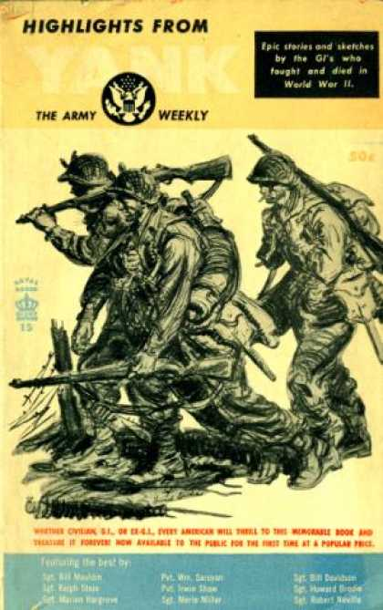 Giant Books - Highlights From Yank the Army Weekly - Sgt. Bill Mauldin