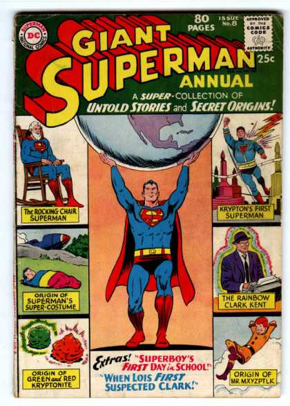 Giant Superman Annual 8