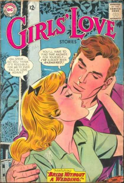 Girls' Love Stories 101 - Dc - Dc Comics - Love And Romance - Man - Woman