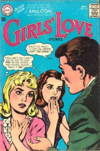 Girls' Love Stories 112 - April Oday - Hollywood Starlet - Relationships - Jealous - Affair
