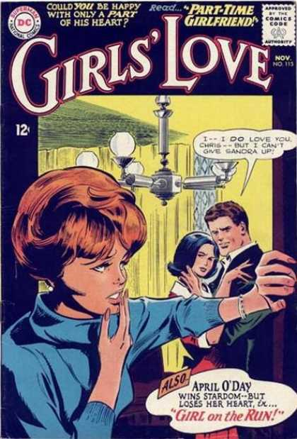 Girls' Love Stories 115 - Superman - Part-time Girlfriend - Woman - Man - Girl On The Run