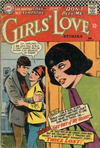 Girls' Love Stories 117 - Girls Love - Stories - Heart - Love - Sympathy