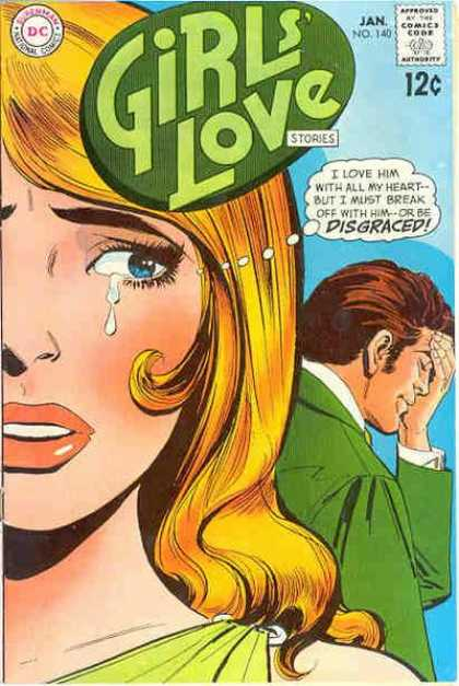 Girls' Love Stories 140 - Romance - Tears - Crying - Sad - Break-up