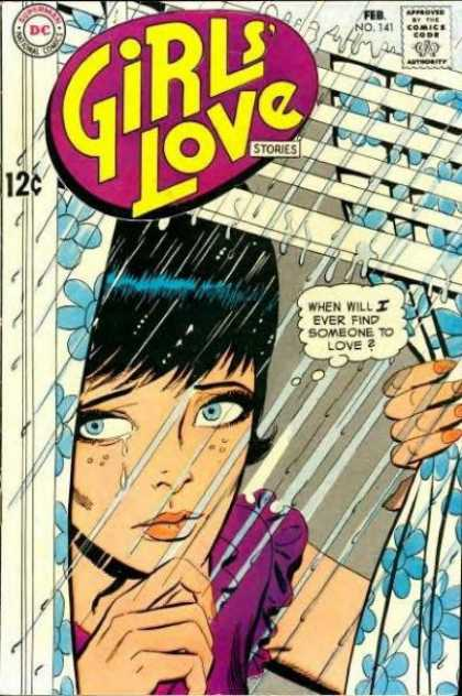 Girls' Love Stories 141 - Dc - Dc Comics - Love - Woman - Rain