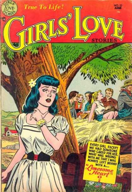 Girls' Love Stories 23 - Tree - Romance