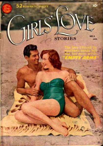 Girls' Love Stories #3 via | buy on eBay | add