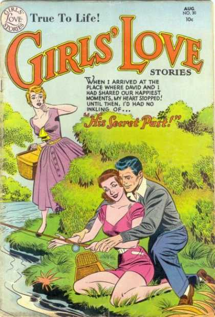 Girls' Love Stories 30 - Fishing - Picnic - Romance - Discovery - Betrayal