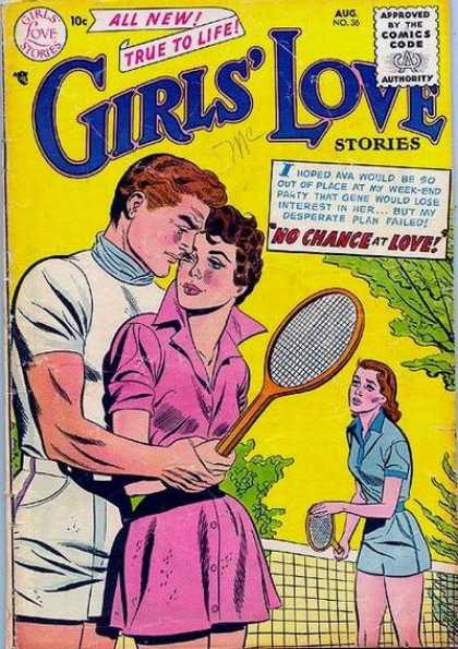 Girls' Love Stories 36