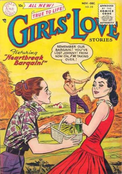 Girls' Love Stories 38
