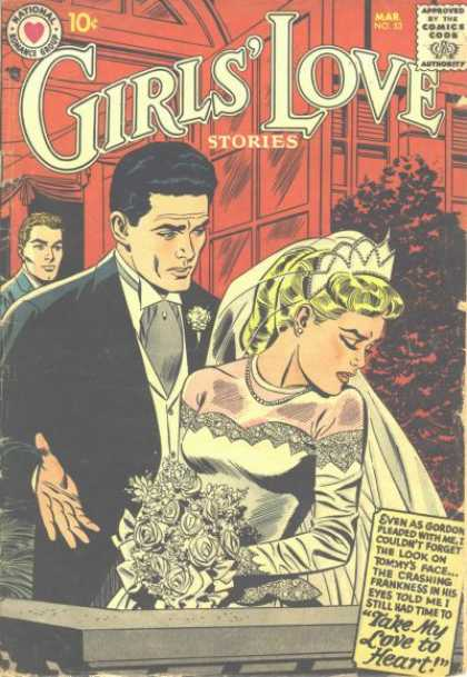 Girls' Love Stories 53 - Bride - Groom - Wedding - Wedding Dress - Bouquet