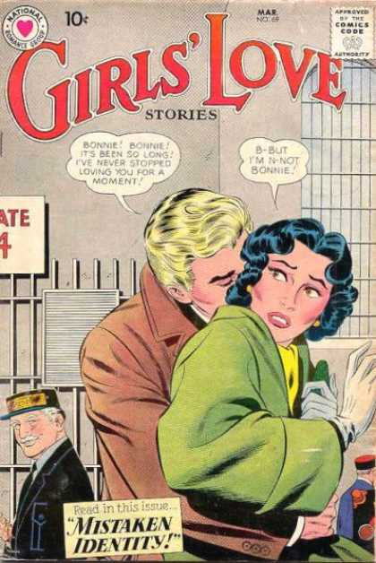 Girls' Love Stories 69 - Mistaken Identity - National - Approved By The Comics Code Authority - Mar - Bonnie