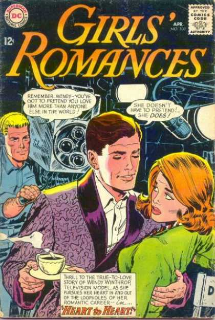 Girls' Romances 100 - Coffee - Camera - Romance Comic - Love - Soap Opera