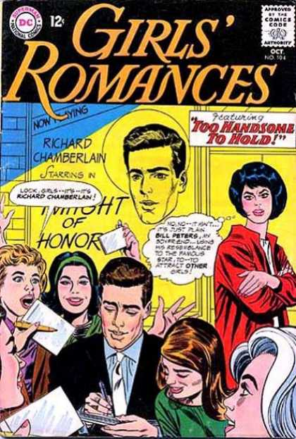 Girls' Romances 104 - Dc - Dc Comics - Romantic - Love - Man And Woman
