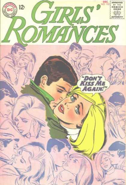Girls' Romances 105 - Kissing - Couples - Man - Woman - Blonde