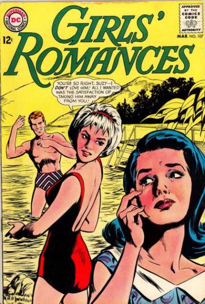 Girls' Romances 107 - Mountains - Suzy - Beach - Wetsuit - Romance
