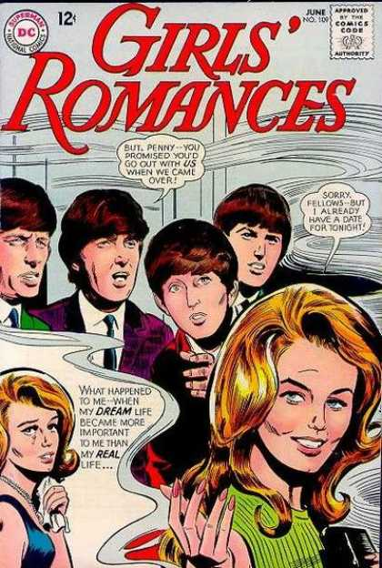 Girls' Romances 109 - Mens - 4 Man - Lady - Girl - Yellow Hair